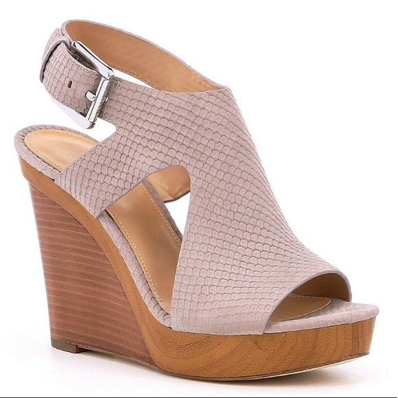 6ad6298011ec Michael Kors Josephine Wedge Sandals. M 5c75d41945c8b3e0771b0191